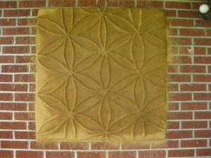 Flower of Life Cob Mural