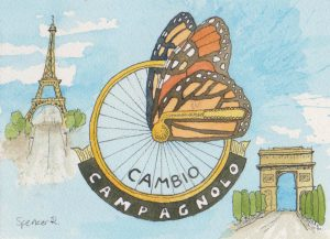Bicycles and Butterflies (AKA Campy Butterfly)