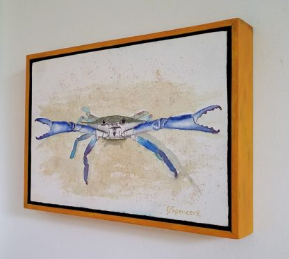 Feisty Crab hung on wall