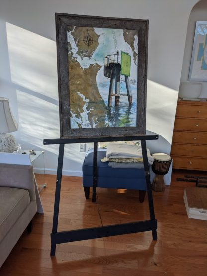Patuxent River Light 3 Easel